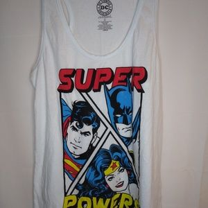 DC super powers tank woman's